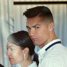 Cristiano Ronaldo's stunning girlfriend Georgina Rodriguez reveals they 'fell in love at first sight' Ronaldo Wife, Ronaldo Junior, Elle Magazine, 25 Years Old, Love At First Sight, Cristiano Ronaldo, Ruler, Falling In Love, Girlfriends