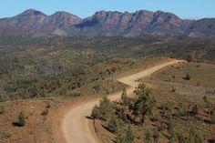 Flinders Ranges, South #Australia www.parkmyvan.com.au #ParkMyVan #Travel #RoadTrip #Backpacking #VanHire #CaravanHire