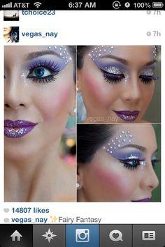 Fairy makeup for American Heart Association event?