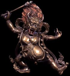 Yama Dharmaraja (Buddhist Protector) - Outer (HimalayanArt)
