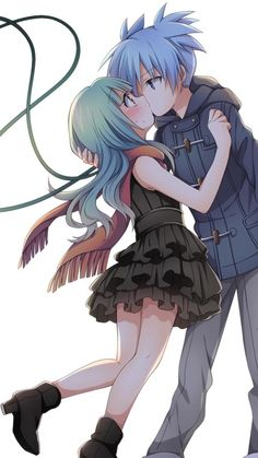 Assassination Classroom. Nagisa and his girl friend