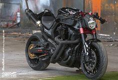 Black Bull Yamaha Mt 01