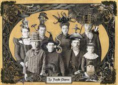 La Famille Chapeau - Portrait of an Odd Family | Flickr - Photo Sharing!