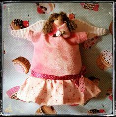 Ángel cupcake