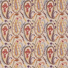 Sanderson - Traditional to contemporary, high quality designer fabrics and wallpapers | Products | British/UK Fabric and Wallpapers | Jamila (DSOH235247) | Sojourn Prints & Embroideries