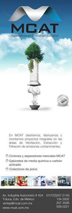 Anuncio de Revista para tratamiento de Aire industrial