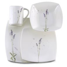 I wish I could afford fine china - Lavender Lane Dinnerware by Mikasa