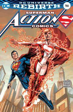 Superman and Superwoman - Clark Kent - Lana Lang - Kal-El Action Comics 966