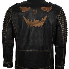 Batman Joker Superhero Character Kids Jacket Black Embroidered Logos SALE