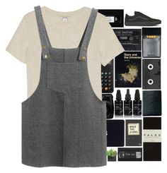 """where we're from we're no one"" by blushingfreckles ❤ liked on Polyvore featuring Braun, Lux-Art Silks, Monki, Chicnova Fashion, Vans, Kahina Giving Beauty, Luckies, Royce Leather, Falke and music"