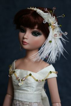 https://flic.kr/p/e2qpCi   Silk & Lace   OOAK Dress for Ellowyne x