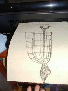 You can print directly on fabric
