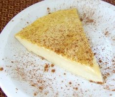 I made my coconut custard pie yesterday, and here it is. It's hard to miss dairy when we eat like this.