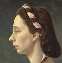 Pyke Koch  Portrait of Mrs. J.C. van Boetzelaer, 1948