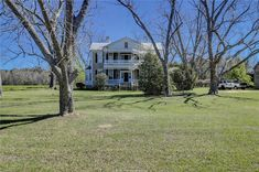 Historic Southern Plantation Home on 32 Acres | CIRCA Old Houses | Old Houses For Sale and Historic Real Estate Listings