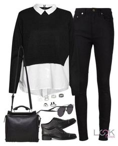 Yves Saint Laurent, French Connection, AllSaints, Phillip Lim, Christian Dior and Topshop Teen Fashion Outfits, Mode Outfits, Fall Outfits, Teen School Fashion, 5sos Outfits, Outfit Winter, Elegantes Business Outfit, Elegantes Outfit, Cute Casual Outfits