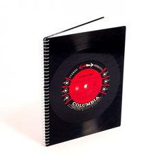 Cuaderno Vinilo Vintage