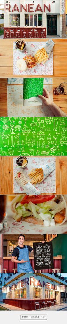 Mediterranean by Narita Estudio curated by Packaging Diva PD. Fast food packaging and branding.