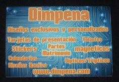 Nuestros diseños rectangulares, para stickers o magnéticos. Diseños e Impresiones Peña dimpena Valparaíso, Chile