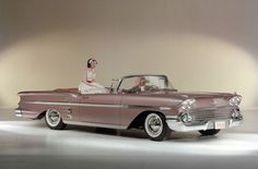 Chevrolet Impala Convertible 1958.