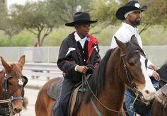 ... TEXAS >> TEXAS HERITAGE ~ TRAIL RIDES > Texas Heritage ~ Black Cowboys