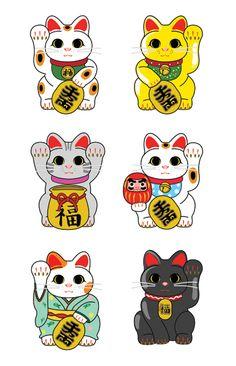Maneki Neko, the Lucky Cat