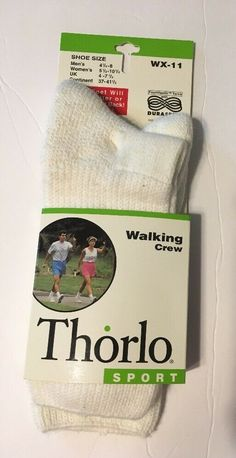 The Thorlos WX Crew Walking Socks showcase unisex sizing ideal for him and her. Whether it's afternoon strolls or power walks, The Thorlo Crew Walking Sock will help keep you in shape and in comfort. Combat Boots Socks, Military Combat Boots, Walking Socks, Running Socks, Socks For Sale, Workout Wear, Crew Socks, Pairs, Baseball Cards