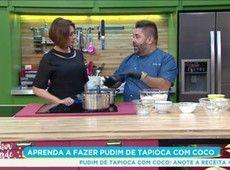 Aprenda A Fazer Delicioso Pudim De Tapioca Com Coco Melhor Da