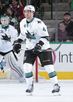 San Jose Sharks defenseman Brenden Dillon (Feb. 19, 2015).