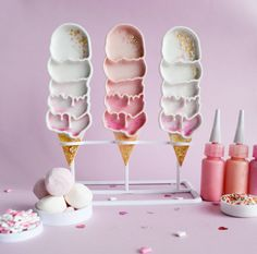 3d printed Pastel Pink Strawberry 5 Scoops Ice Cream by MIMAWorkshop https://www.etsy.com/listing/254604569/pastel-pink-strawberry-shortcake-5?ref=shop_home_active_6