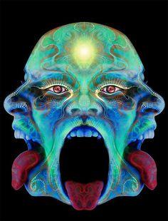 54 Super Ideas For Trippy Art Hippie Psychedelic Trips Bad Trip, Drugs Art, Trippy Pictures, Arte Alien, Psychadelic Art, Arte Cyberpunk, Psy Art, Hippie Art, Visionary Art