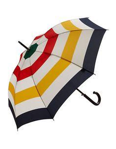 HBC Collections | Accessories | Multi Stripe - Walking Stick Umbrella | Hudson's Bay
