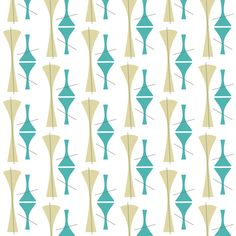Mid-C cocktail fabric by brainsarepretty on Spoonflower - custom fabric
