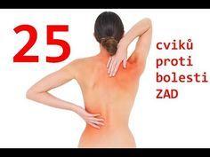 25 cviků pro odstranění bolesti zad - páteře