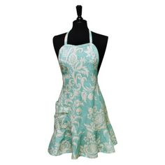Cypress Home Felicia Spearmint Apron