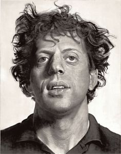 Phil. Glass - Chuck Close