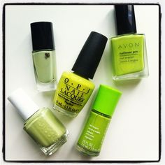 Spring 2012 Nail Colour Trend: Green