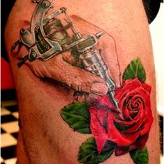 Tattoomagz com incredible pink roses tattoos great quote and pink rose