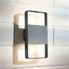 LED buitenwandlamp Palina, 2lamps | Lampen24.nl Spot Mural, Sconces, Wall Lights, Ebay, Bathroom, Lighting, Articles, Home Decor, Perms