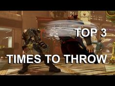 Top 3 Times to Use Throw - Street Fighter 5 Tutorial Street Fighter 5, My Opinions, Kicks, Guys, Movies, Gaming, Movie Posters, Top, Videogames
