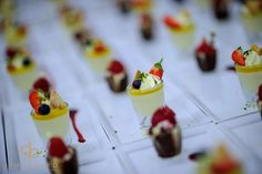 #summerwedding trio of #desserts