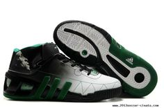 the latest 13266 62ced Adidas shoes NBA Kevin Garnett VI Basketball shoes Black White For Wholesale