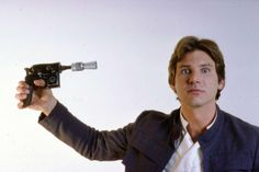 Don't learn gun safety from a scruffy-looking nerf-herder. #hansolo #starwars #hanshotfirst