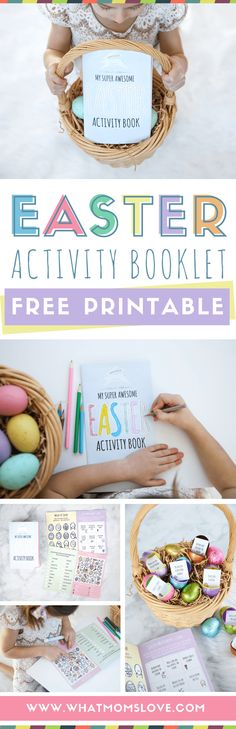 Free Printable Easter Activity Book - what moms love