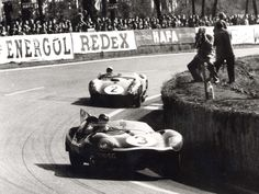 Jaguar D-Type Le Mans 1955 1956 1957 Winner