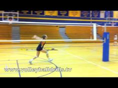 Volleyball How to: Middle Blocker swing block - YouTube