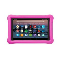 Cobalt Purple Fire 7 Tablet Case 7th Generation, 2017 Release