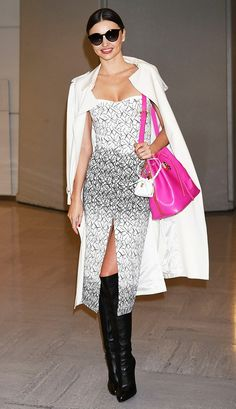 From Miranda Kerr to Jamie Chung, The Sexy Look Everyone Is Trying via @WhoWhatWear