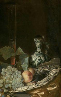 "Isaac van Kipshaven, ""Sumptuous Still Life"", 1661"