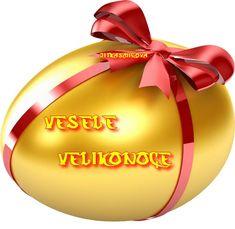 Veselé Velikonoce obrázky, citáty a animace pro Facebook - ObrazkyAnimace.cz Christmas Bulbs, Holiday Decor, Facebook, Christmas Light Bulbs